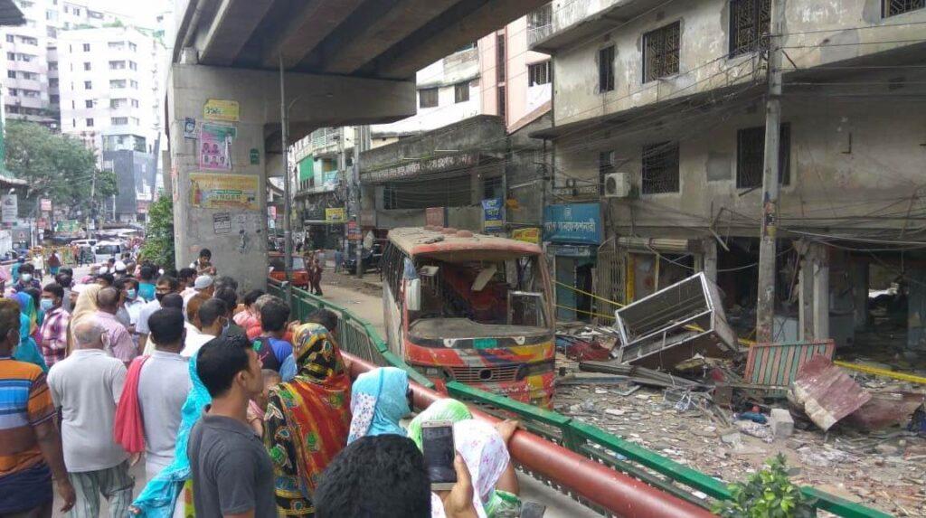взрыв в Бангладеш